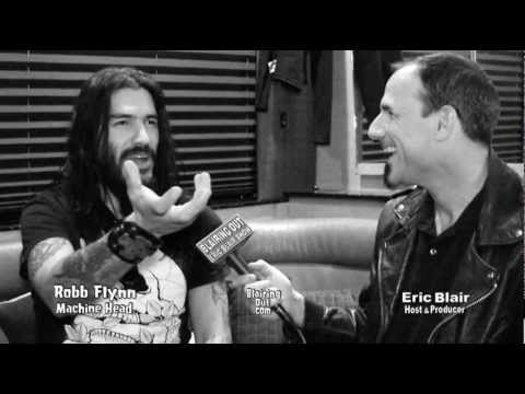 Machine Head's Robb Flynn talks w Eric Blair 2012