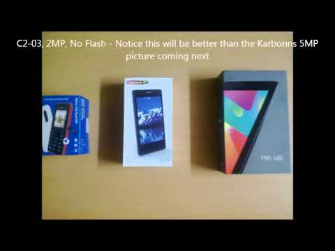 Karbonn A12+ camera - pictures - images - samples & review