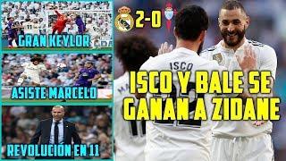 ISCO Y BALE DAN LA VICTORIA A ZIDANE 2-0   KEYLOR Y MARCELO VUELVEN AL 11  GRAN MODRIC Y ASENSIO