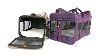 Sherpa The Original Deluxe Pet Carrier from Quaker Pet Group