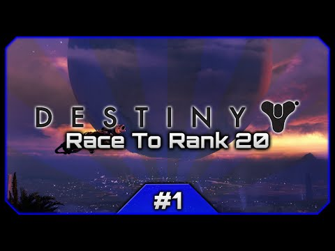 Let's Play Destiny (PS4) || Python The Dark Dancing Warlock! || The Race To Rank 20 [#1]