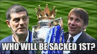 5 Premier League Managers Who Could Be SACKED First This Season