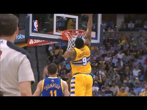 Andre Iguodala Nuggets Offense Highlights 2012/2013