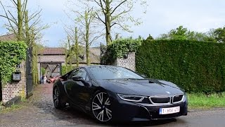 LOUD Black & Blue BMW I8 SOUNDS!!!