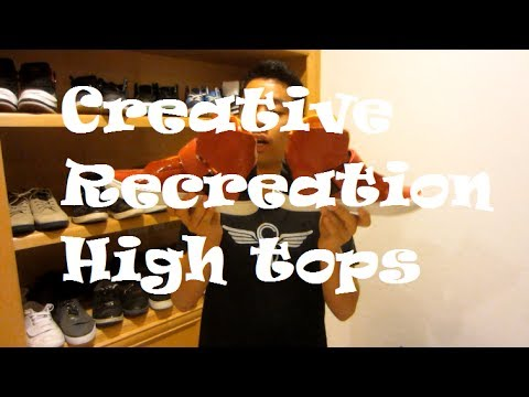 Creative Recreation Showcase – High tops
