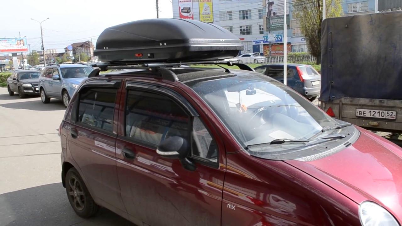 Багажник на крышу матиза своими руками 8