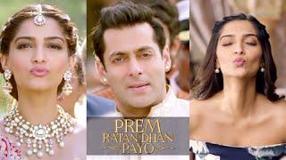 Salman Khan and Sonam Kapoor Kissing Twist in Prem Ratan Dhan Payo