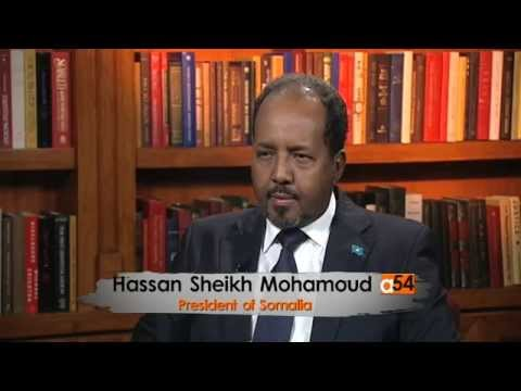 Somalia President Hassan Sheikh Mohamoud