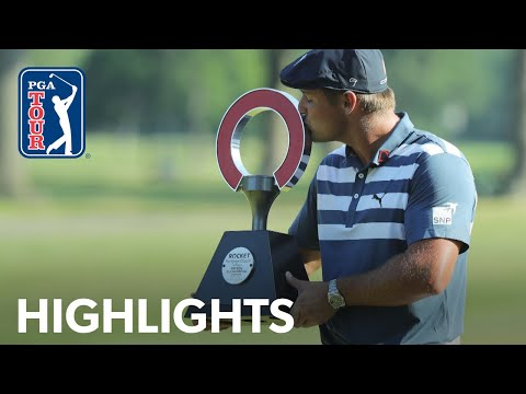 Bryson DeChambeau's winning highlights from the Rocket Mortgage Classic 2020