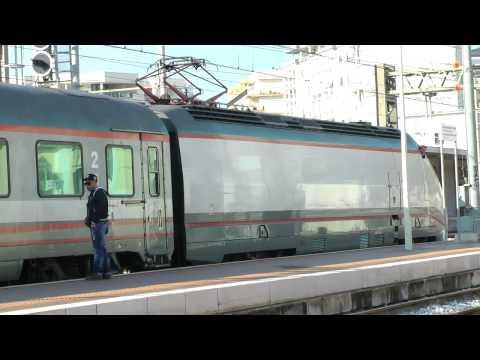 ETR 600 Frecciargento e  ETR500 Eurostar City a Brindisi