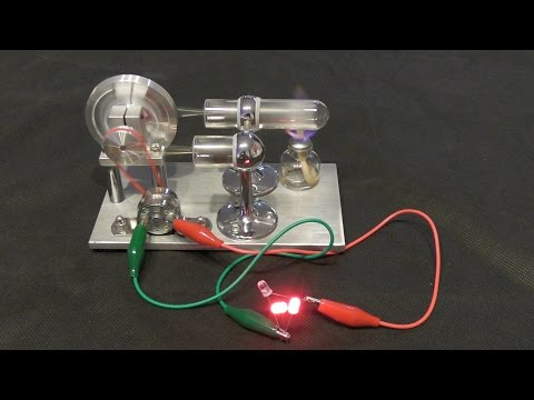 Free Energy for Led Bulb?Magnet Motor Generator and Stirling Engine by Wasaby Sajado