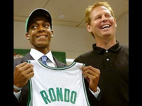 Rajon Rondo Draft Night - 2006/2007 - 21st pick of the draft