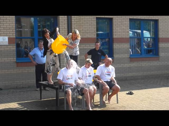Pembrokeshire College Ice Bucket Challenge