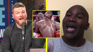 Evander Holyfield Talks His Reaction To Mike Tyson Biting His Ear Off