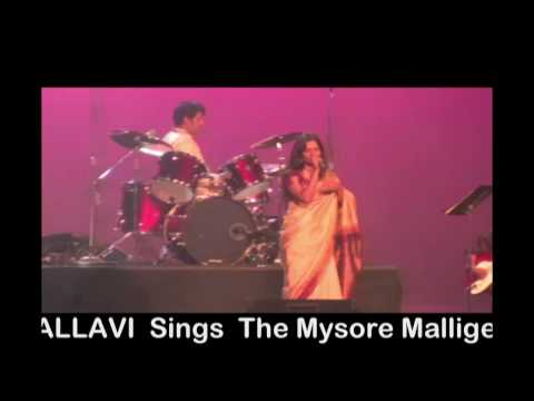 Navika: Melody Queen Pallavi: deepavu.. Mysore Mallige video