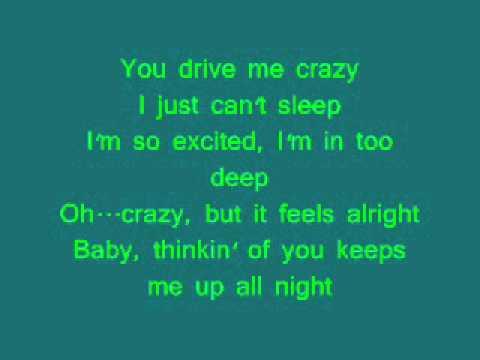 (You Drive Me) Crazy - Britney Spears - Lyrics