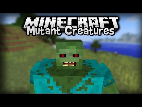 Minecraft - Mod Showcase : Mutant Creatures