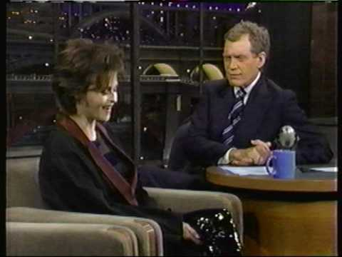 Helena Bonham Carter on Letterman (1996) Twelfth Night