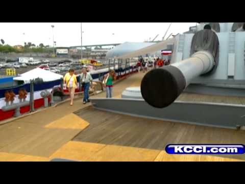 Sailors return to USS Iowa