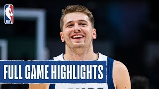 THUNDER at MAVERICKS | Doncic x Porzingis Lead Mavericks to W | 2019 NBA Preseason
