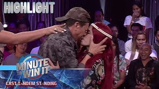 Long, sinunggaban ang isa sa lucky charms ni Luis na si Sugar | Minute To Win It