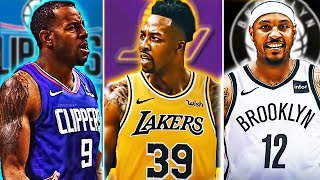 Will Carmelo Anthony Be SIGNED By The Nets? + Dwight Howard Lakers! NBA Trade Rumours Talk! Ep.1