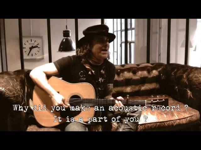 INTERVIEW & ACOUSTIC SONG WITH MIKE TRAMP BY ROCKNLIVE PRODUCTION