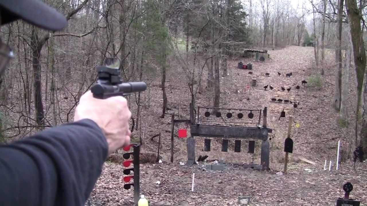 Ruger 22 45 Suppressed Youtube