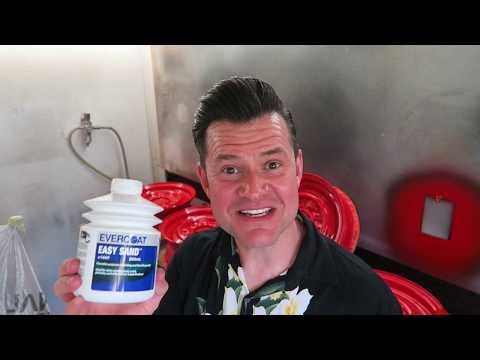 Car Body Filler Bondo Tips and Tricks #12 + Evercoat Easy sand review