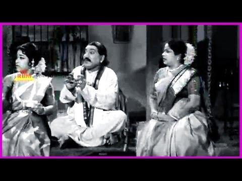 Ramu Telugu Movie Comedy Scene - Ntr , Jamuna , Pushpalatha video