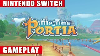 My Time At Portia Nintendo Switch Gameplay