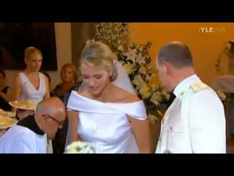 Prince Albert II and Princes Charlene of Monaco wedding