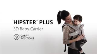 HIPSTER PLUS 9 in 1 Baby Carrier