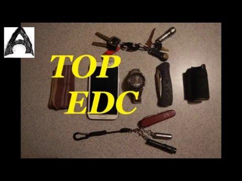 Мой TOP EDC предметов (Т+)