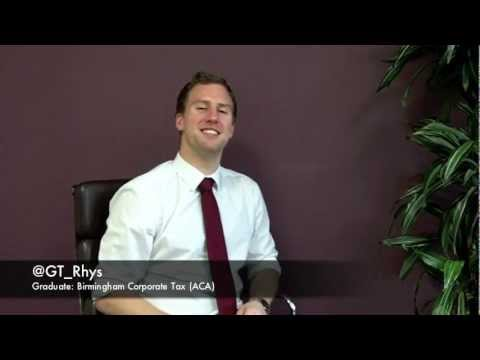Rhys Corporate Tax Graduate Birmingham ACA @GT_Rhys.