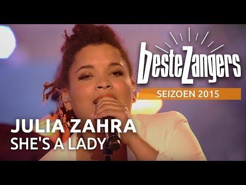 download lagu Julia Zahra - She's A Lady - De Beste Za gratis