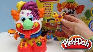 Play Doh Clown toy Playset Playdough Funny Clown Play-Doh Plasticine
