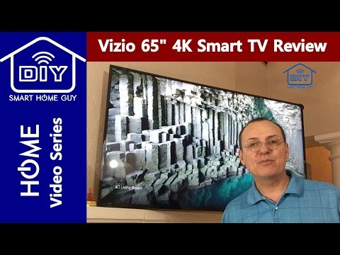 Review Vizio E-Series E65u D3 65 inch UHD 4K Smart TV Display with true  4k resolution