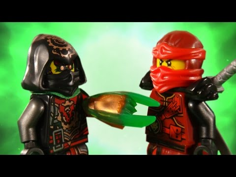 LEGO NINJAGO - RISE OF THE VERMILLION PART 2 - BATTLE FOR THE TIME BLADE