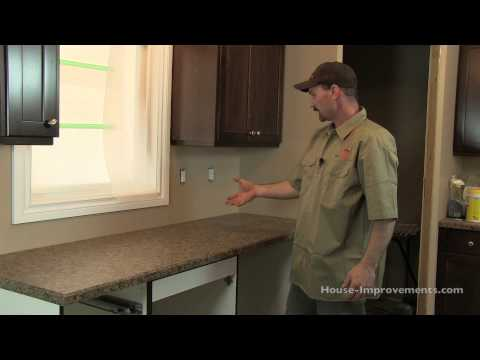 How To Install Kitchen Counter Tops