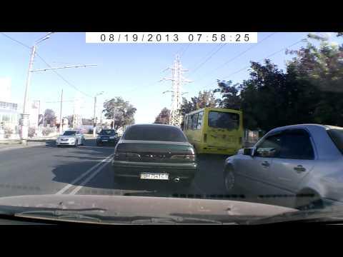 Авария на Люстдорфской дороге Одесса 19.08.2013