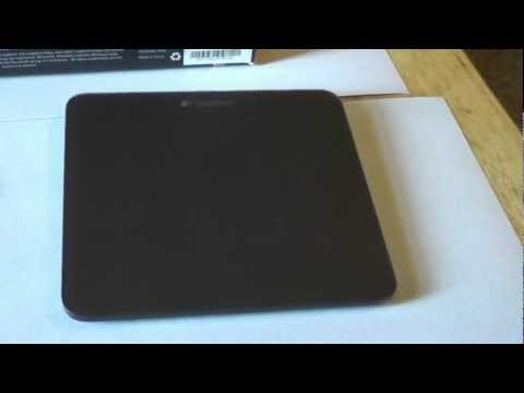 Logitech Rechargeable Touchpad t650 Review