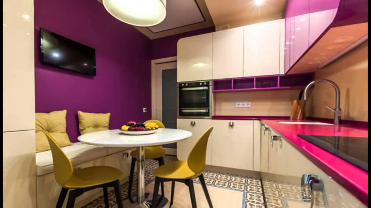 Дизайн ярких кухонь