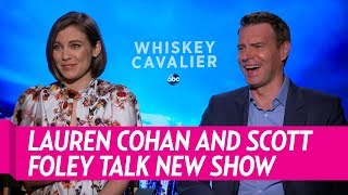 Lauren Cohan and Scott Foley Talk 'Whiskey Cavallier'