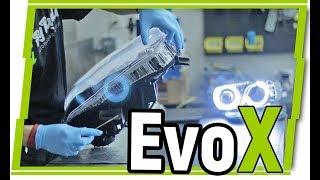 How to Customize HEADLIGHTS | Mitsubishi EVO X | FlyRyde