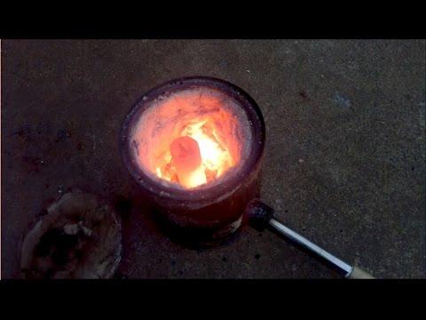 Как сделать муфельную печь своими руками для плавки золота 44