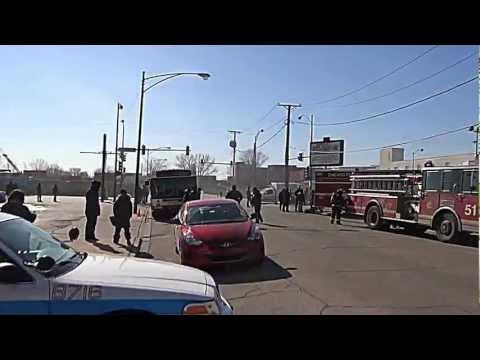 "Check Out Live NBC Movie Set ""Chicago Fire"" @ Wallace Mini Lofts 2013"
