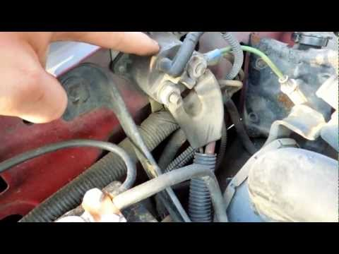 1994 Ford F150 5.8L EFI Starter Solenoid Relay Location