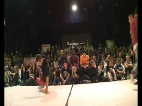 EASTSIDE BBOYS VS ARCOPOM (PESSAC BATTLE ARENA 2008) WWW.BBOYWORLD.COM Video