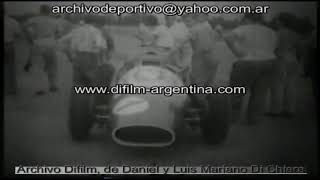 Motoring - Grand Prix city of Buenos Aires - 1959 FOOTAGE ARCHIVE